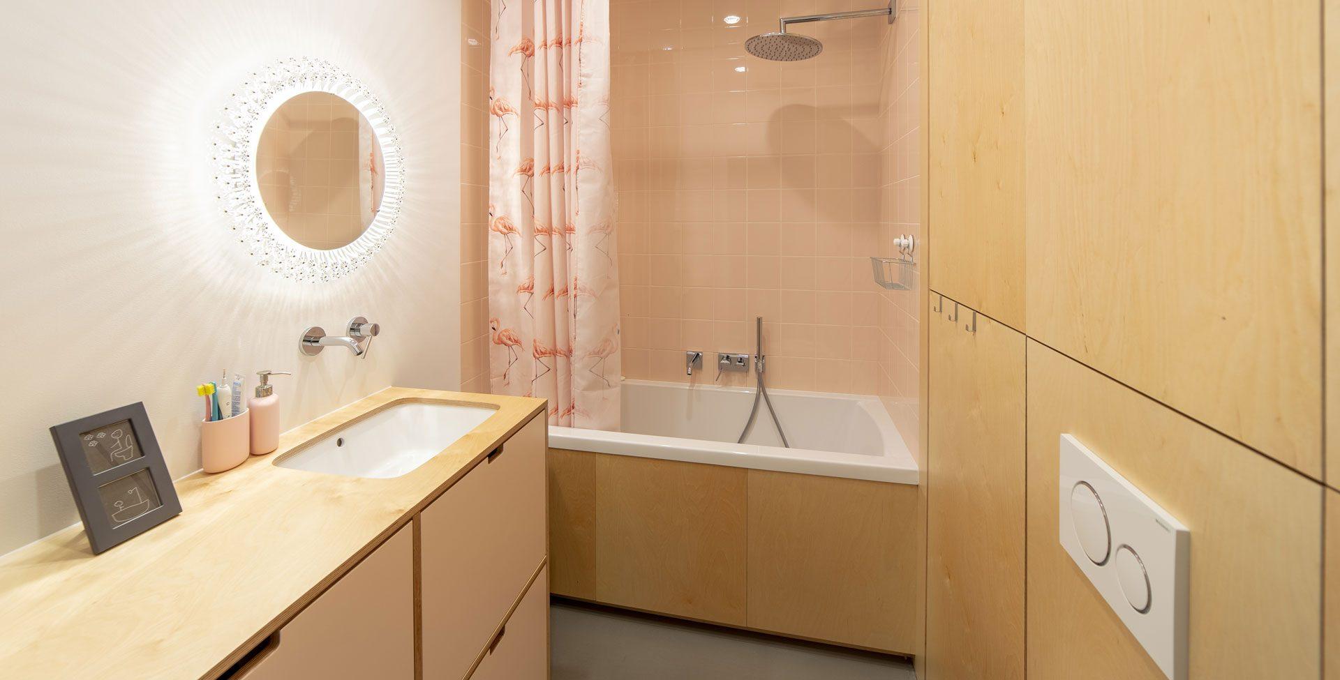 Łazienka jak z poprzedniej epoki